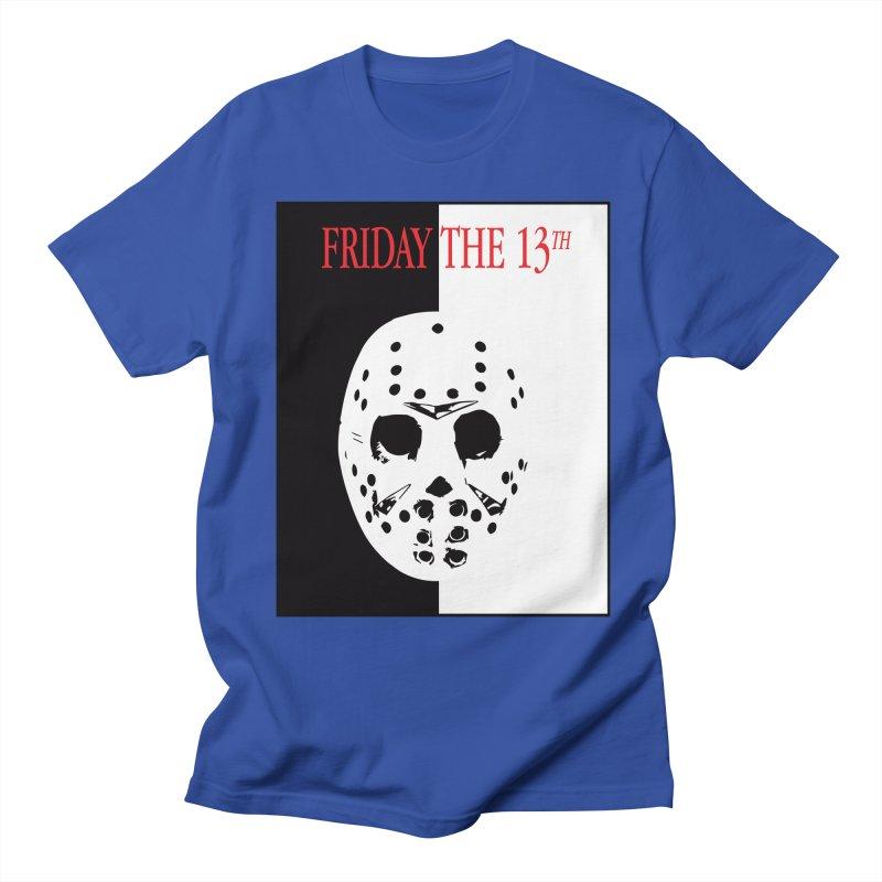 Jason Scarface Men's Regular T-Shirt by oldtee's Artist Shop