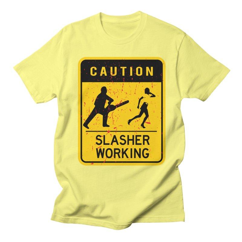 Slasher Working Men's T-Shirt by oldtee's Artist Shop