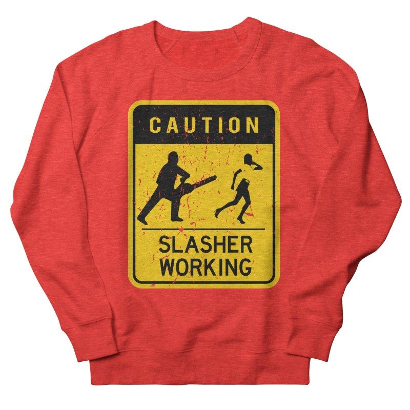 Slasher Working Men's Sweatshirt by oldtee's Artist Shop