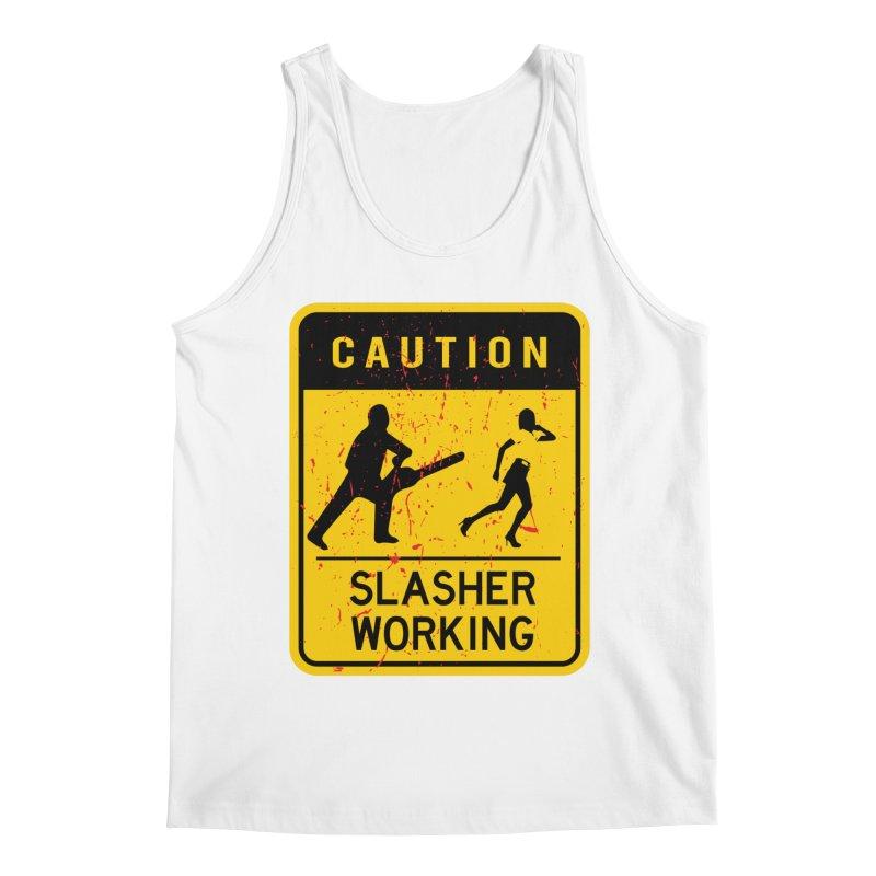Slasher Working Men's Tank by oldtee's Artist Shop