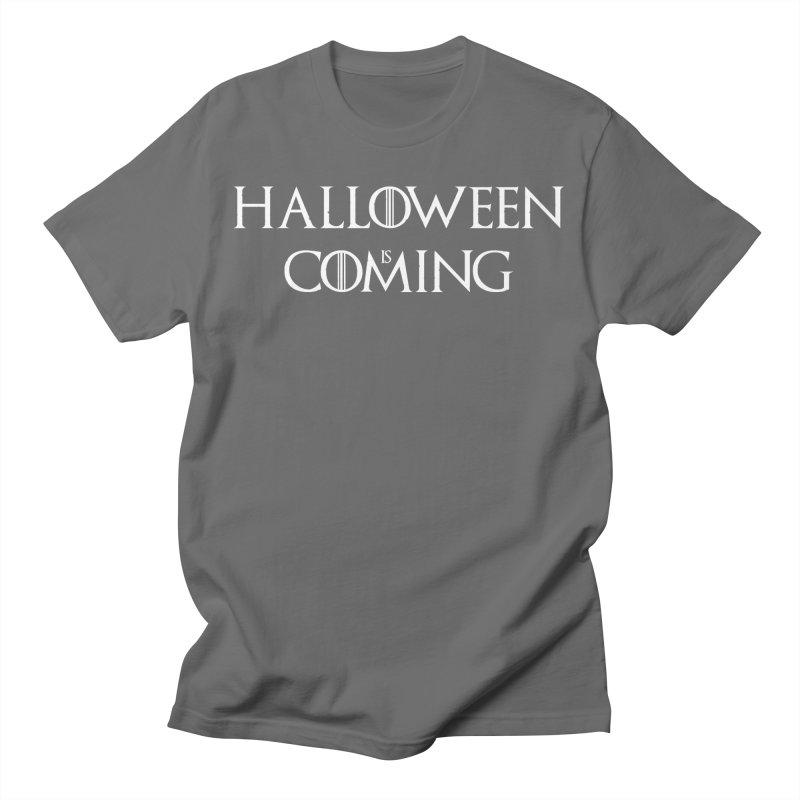 Halloween is coming Men's T-Shirt by oldtee's Artist Shop