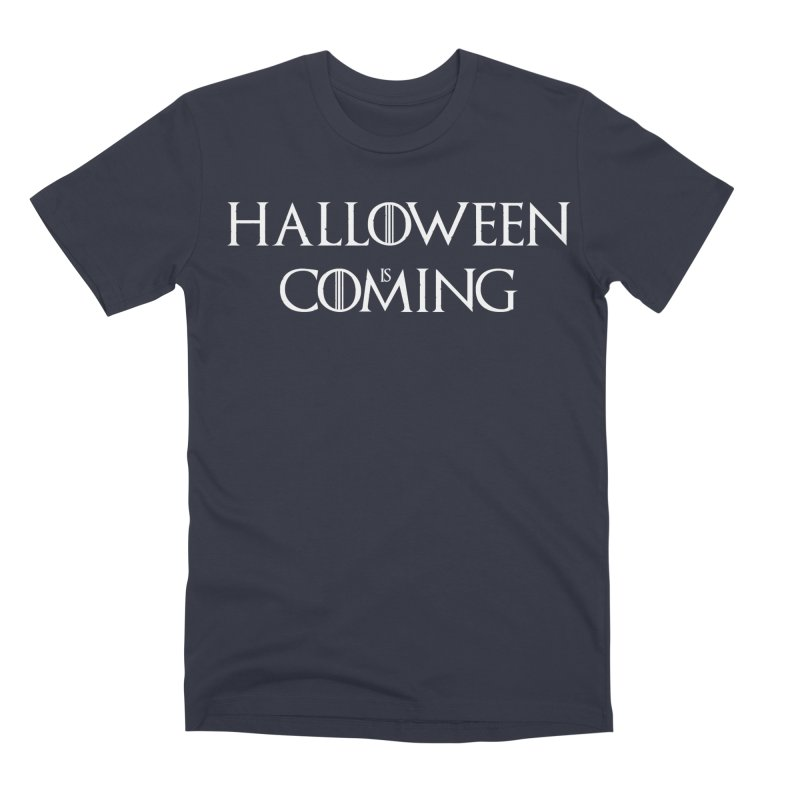 Halloween is coming Men's Premium T-Shirt by oldtee's Artist Shop
