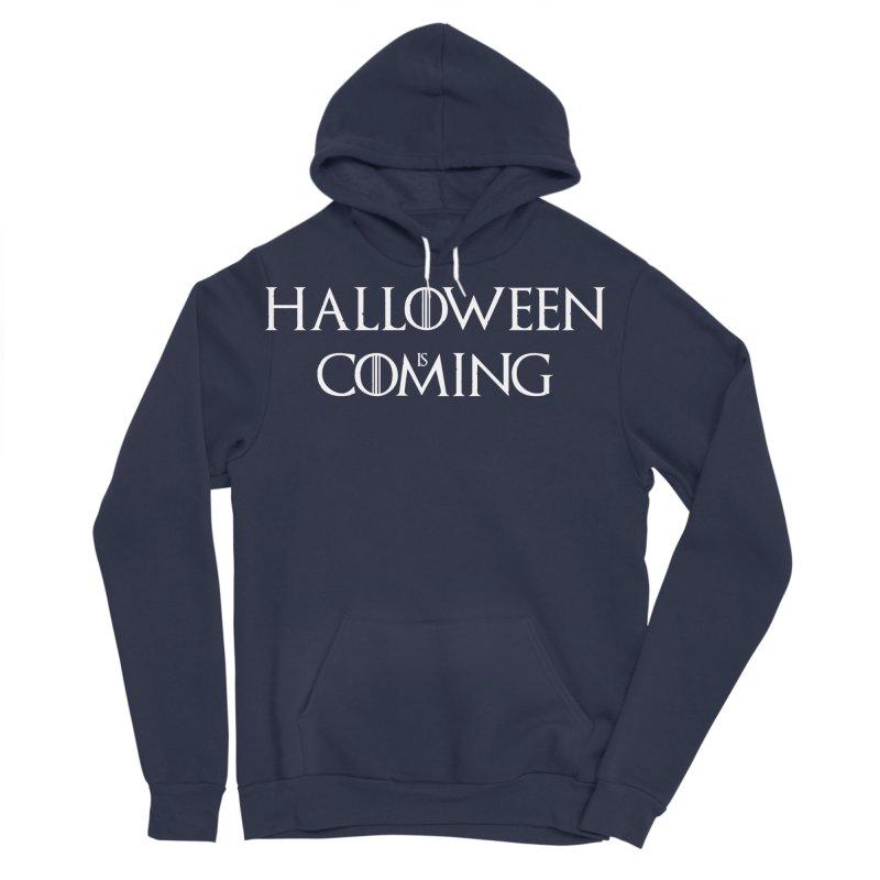 Halloween is coming Women's Sponge Fleece Pullover Hoody by oldtee's Artist Shop