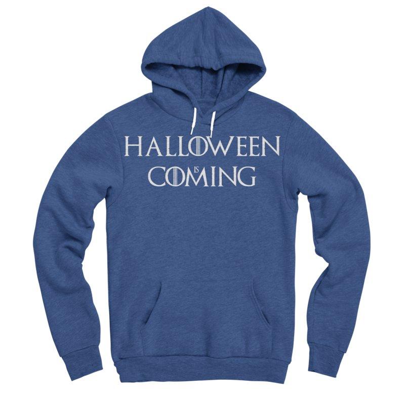 Halloween is coming Men's Sponge Fleece Pullover Hoody by oldtee's Artist Shop
