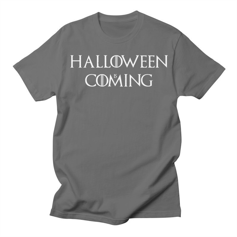 Halloween is coming Men's T-Shirt by oldtee's Artist Shop
