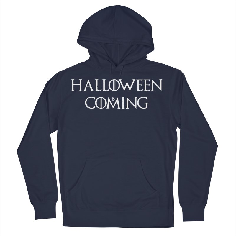 Halloween is coming Men's French Terry Pullover Hoody by oldtee's Artist Shop