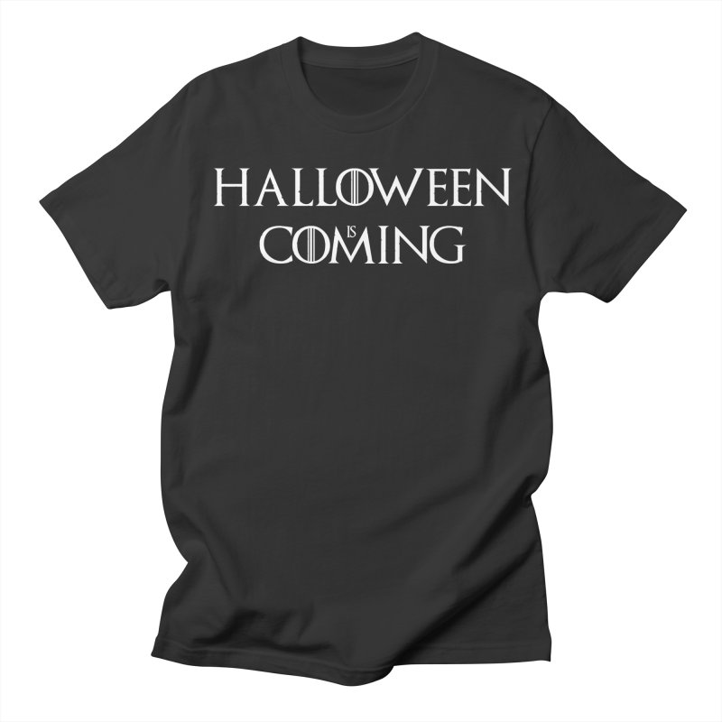 Halloween is coming Women's Regular Unisex T-Shirt by oldtee's Artist Shop