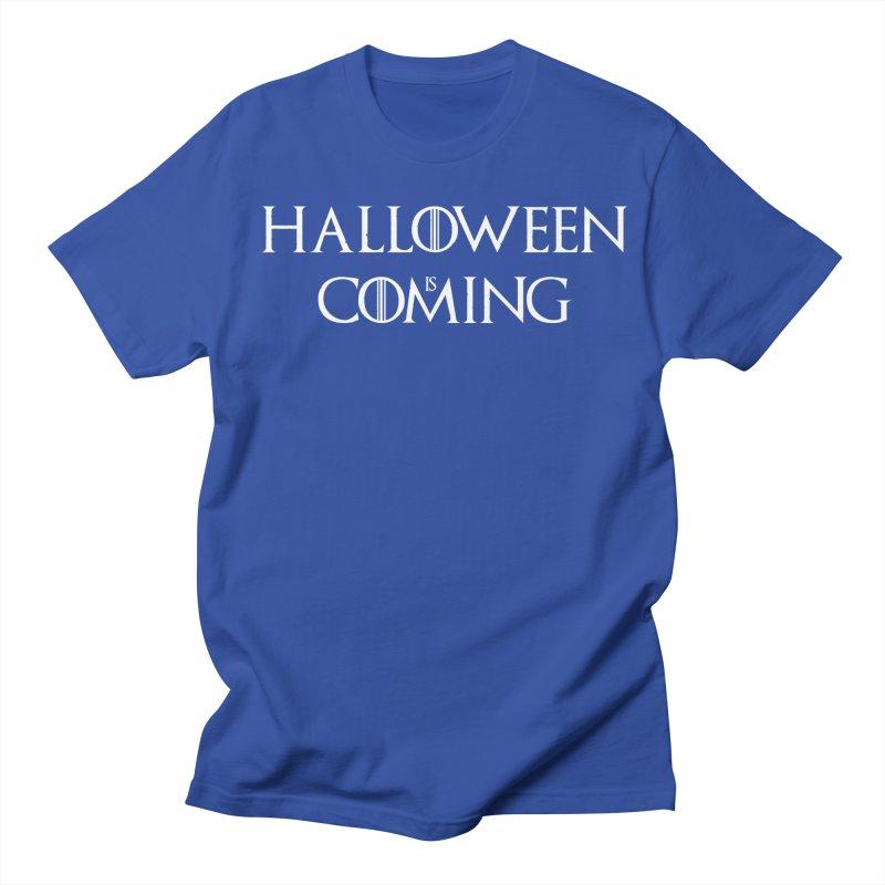 Halloween is coming Men's Regular T-Shirt by oldtee's Artist Shop