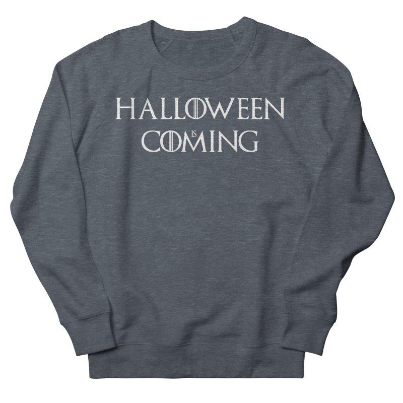 Halloween is coming Men's French Terry Sweatshirt by oldtee's Artist Shop