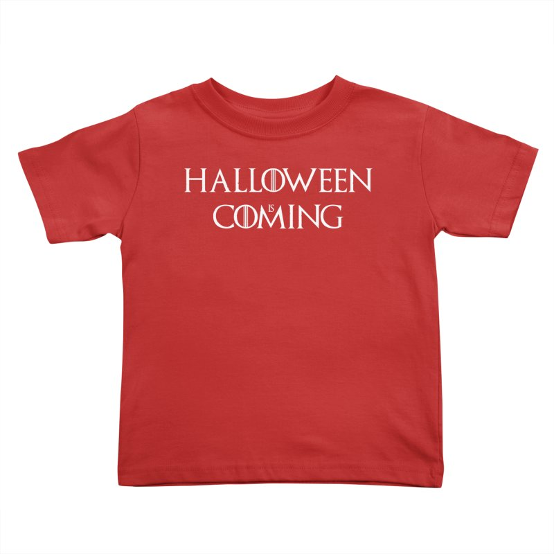 Halloween is coming Kids Toddler T-Shirt by oldtee's Artist Shop