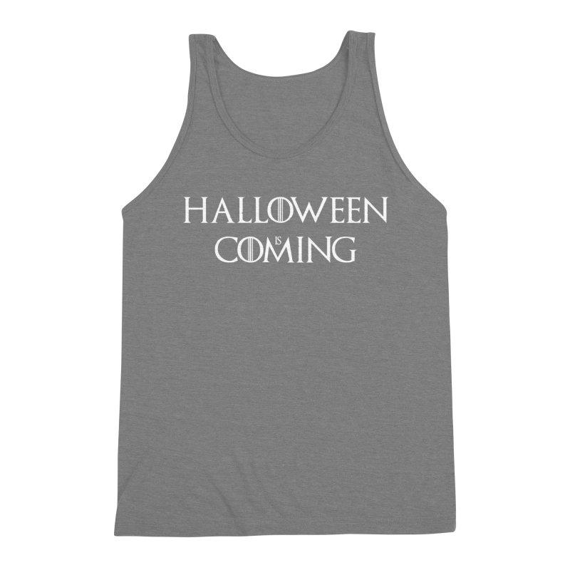 Halloween is coming Men's Triblend Tank by oldtee's Artist Shop