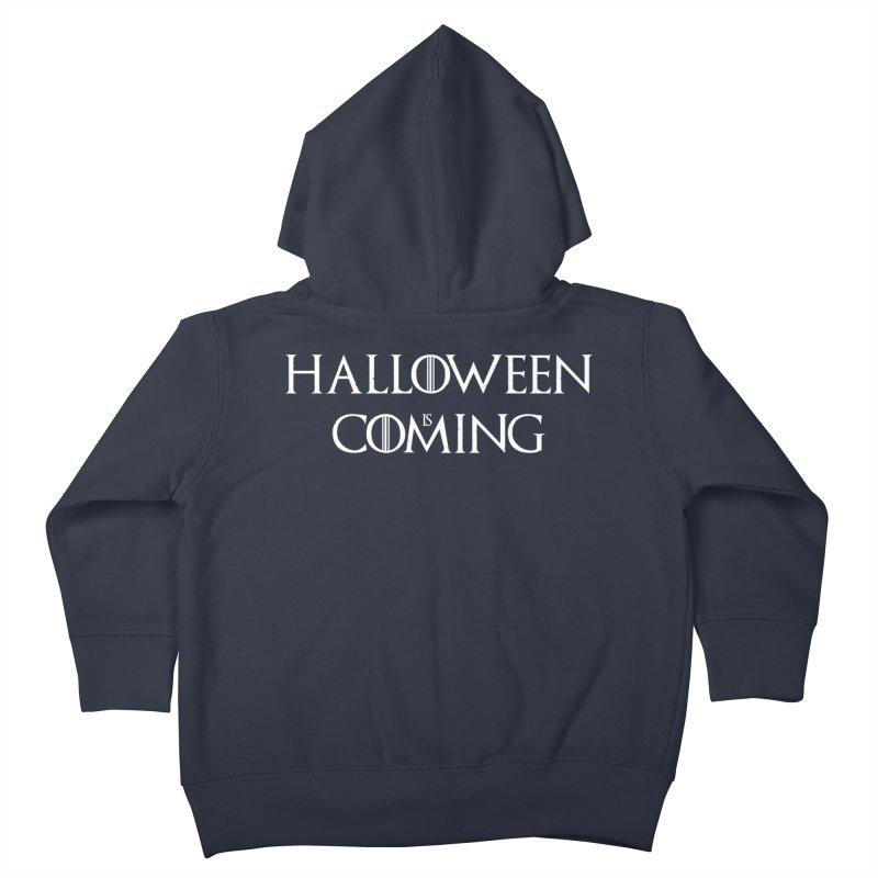 Halloween is coming Kids Toddler Zip-Up Hoody by oldtee's Artist Shop