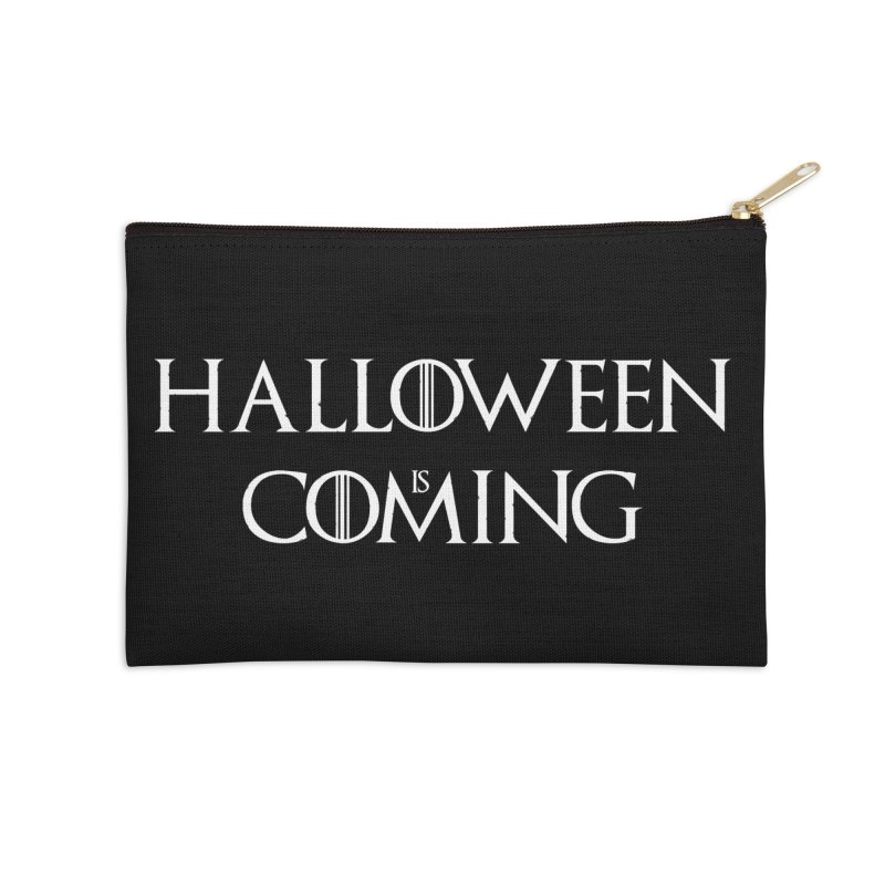Halloween is coming Accessories Zip Pouch by oldtee's Artist Shop