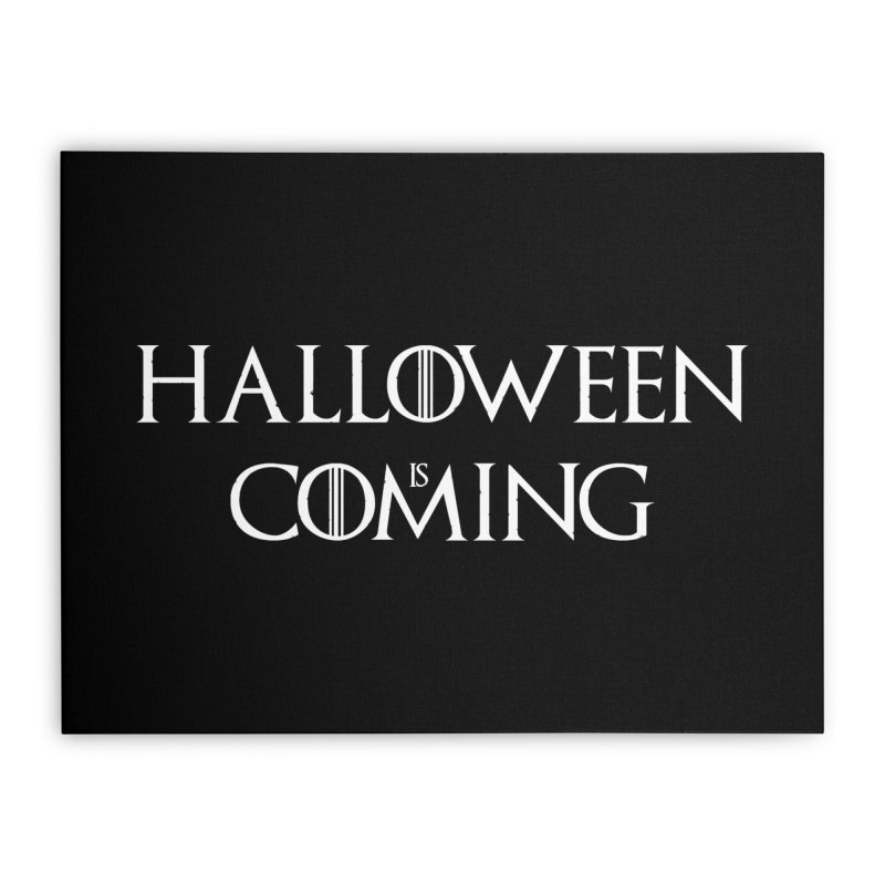 Halloween is coming Home Stretched Canvas by oldtee's Artist Shop