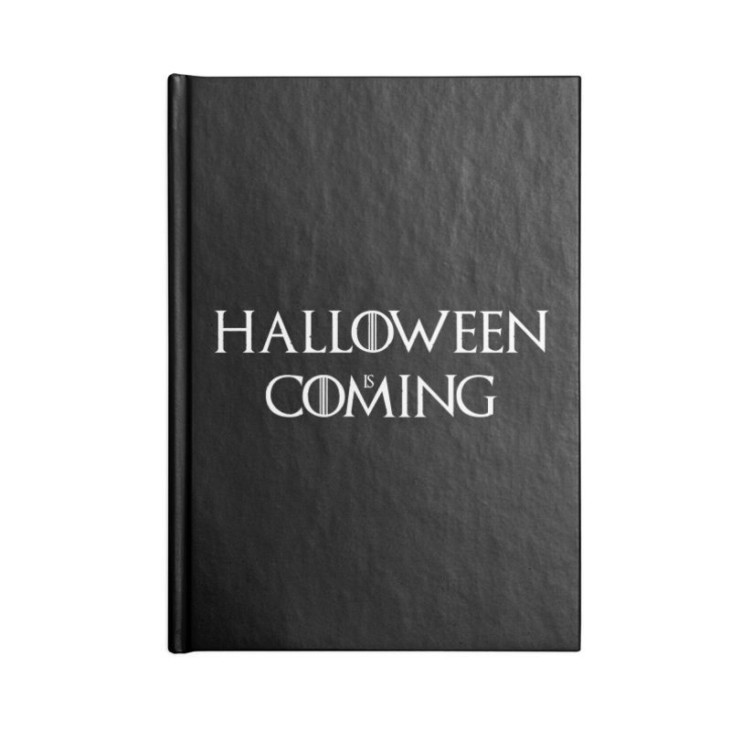 Halloween is coming Accessories Blank Journal Notebook by oldtee's Artist Shop