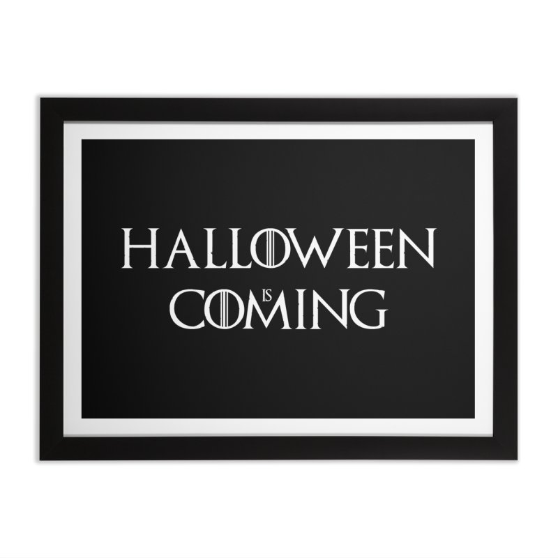 Halloween is coming Home Framed Fine Art Print by oldtee's Artist Shop