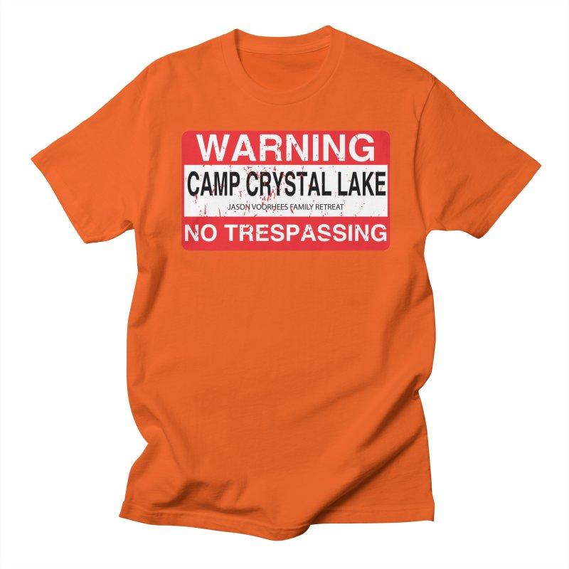 Camp Crystal Lake no trespassing Women's Regular Unisex T-Shirt by oldtee's Artist Shop
