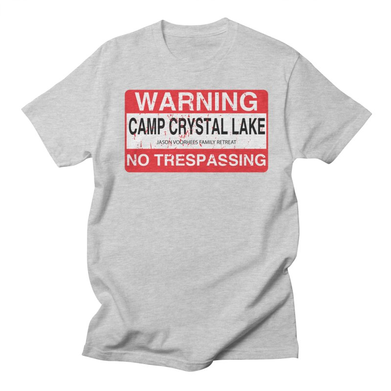 Camp Crystal Lake no trespassing Women's Regular Unisex T-Shirt by oldtee's Artist Shop