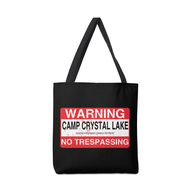 Camp Crystal Lake no trespassing Accessories Tote Bag Bag by oldtee's Artist Shop