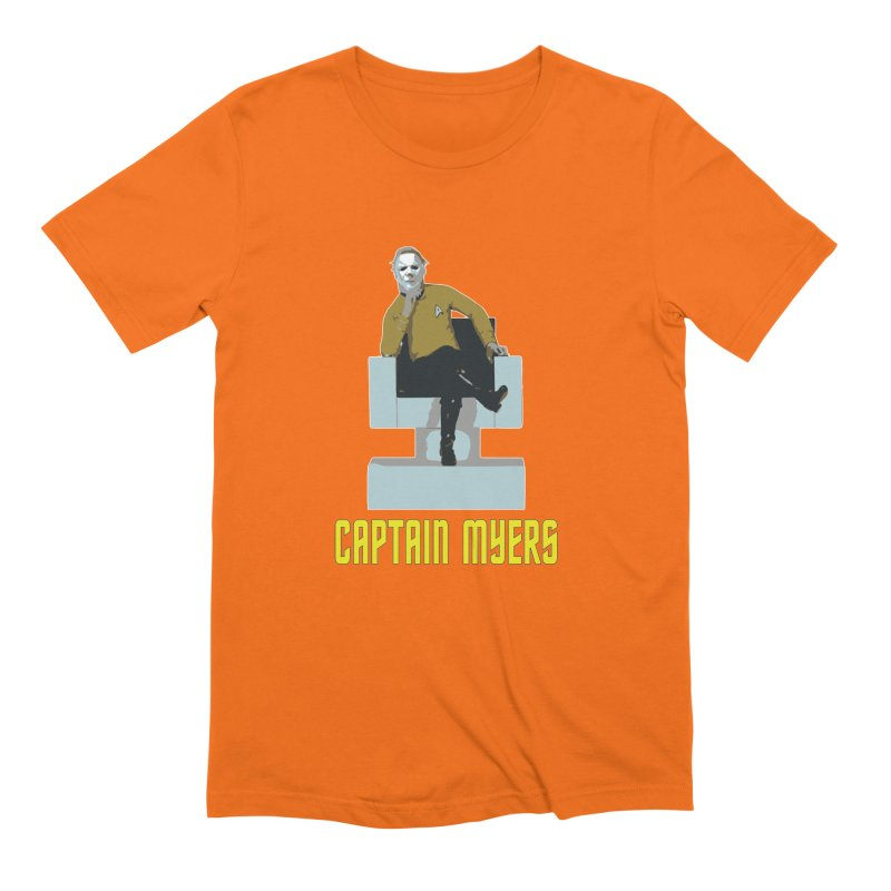 Captain Myers Men's T-Shirt by oldtee's Artist Shop