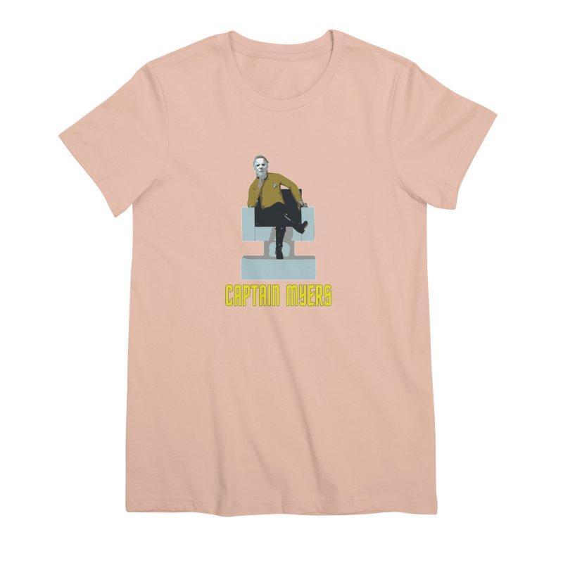 Captain Myers Women's Premium T-Shirt by oldtee's Artist Shop