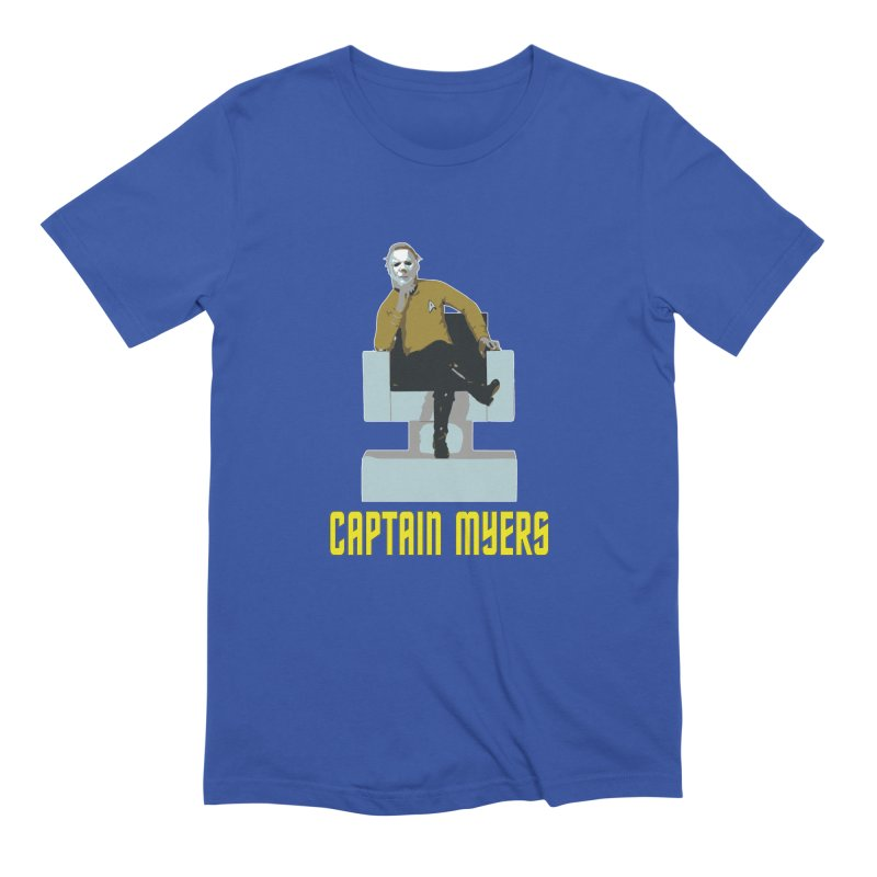 Captain Myers Men's Extra Soft T-Shirt by oldtee's Artist Shop