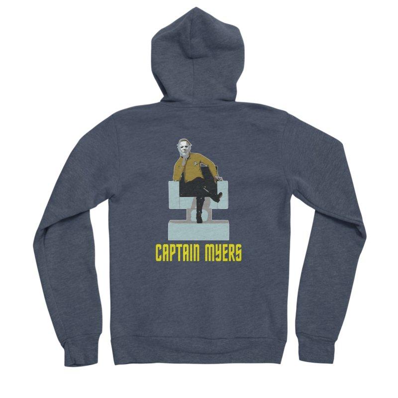 Captain Myers Men's Sponge Fleece Zip-Up Hoody by oldtee's Artist Shop