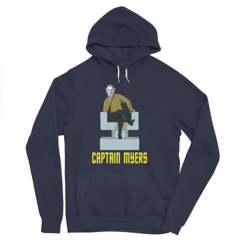Captain Myers Women's Sponge Fleece Pullover Hoody by oldtee's Artist Shop