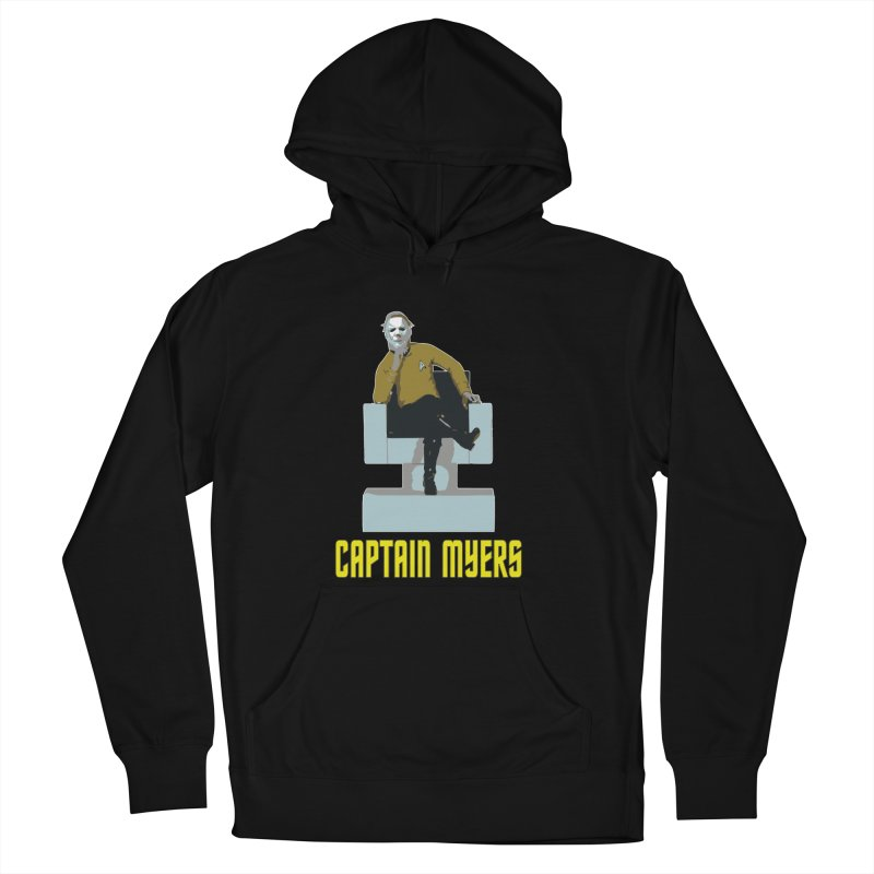 Captain Myers Women's French Terry Pullover Hoody by oldtee's Artist Shop