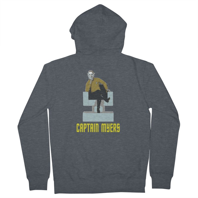 Captain Myers Women's French Terry Zip-Up Hoody by oldtee's Artist Shop