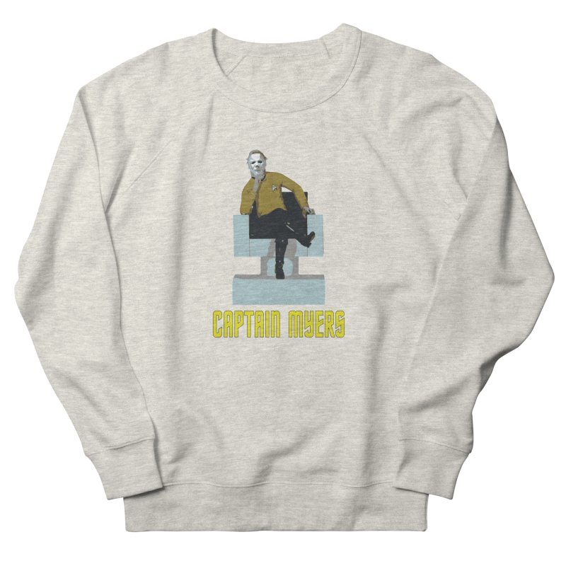 Captain Myers Men's French Terry Sweatshirt by oldtee's Artist Shop