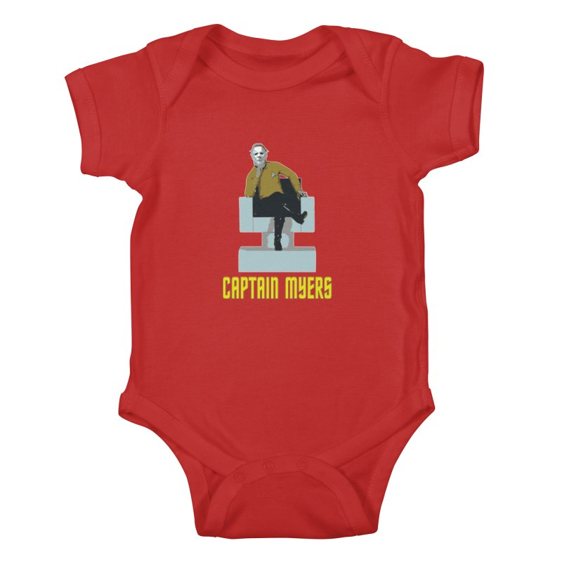 Captain Myers Kids Baby Bodysuit by oldtee's Artist Shop