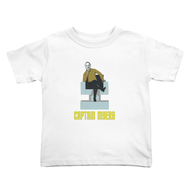 Captain Myers Kids Toddler T-Shirt by oldtee's Artist Shop