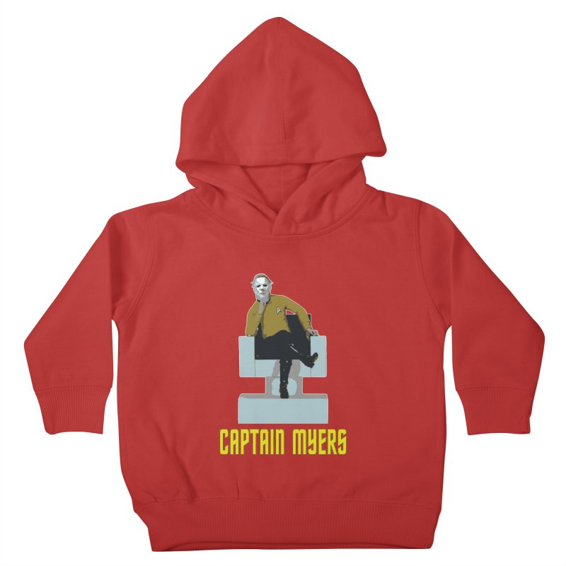 Captain Myers Kids Toddler Pullover Hoody by oldtee's Artist Shop