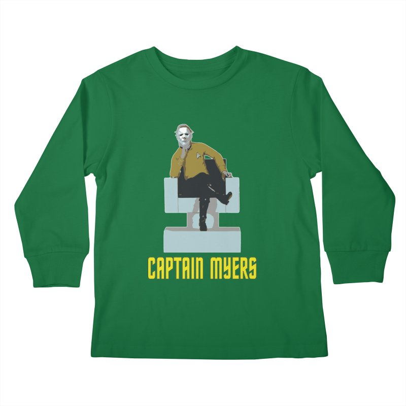 Captain Myers Kids Longsleeve T-Shirt by oldtee's Artist Shop