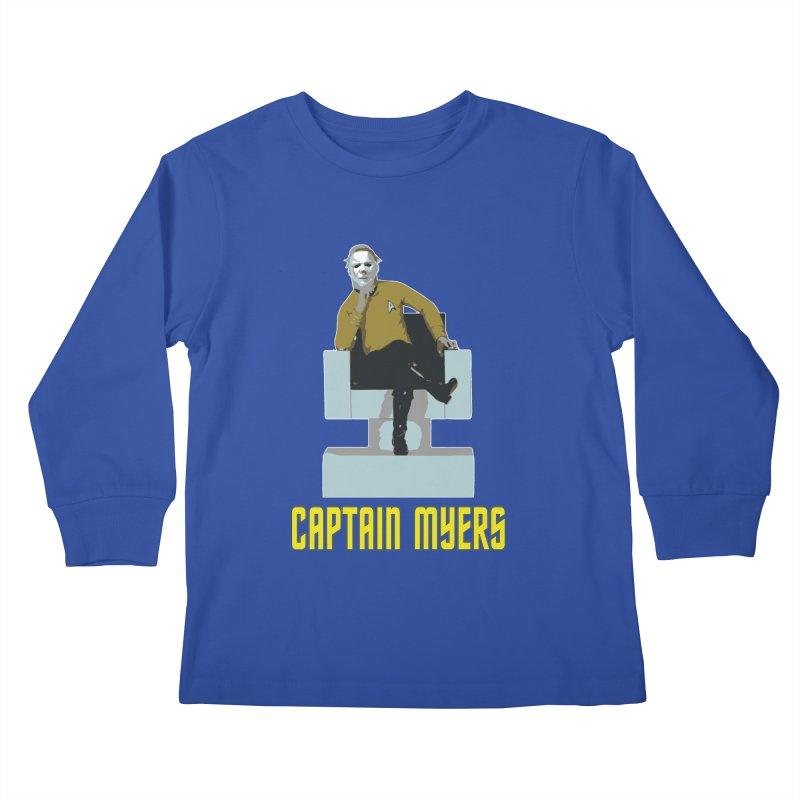 Captain Myers Kids Longsleeve T-Shirt by oldtee's Artist Shop
