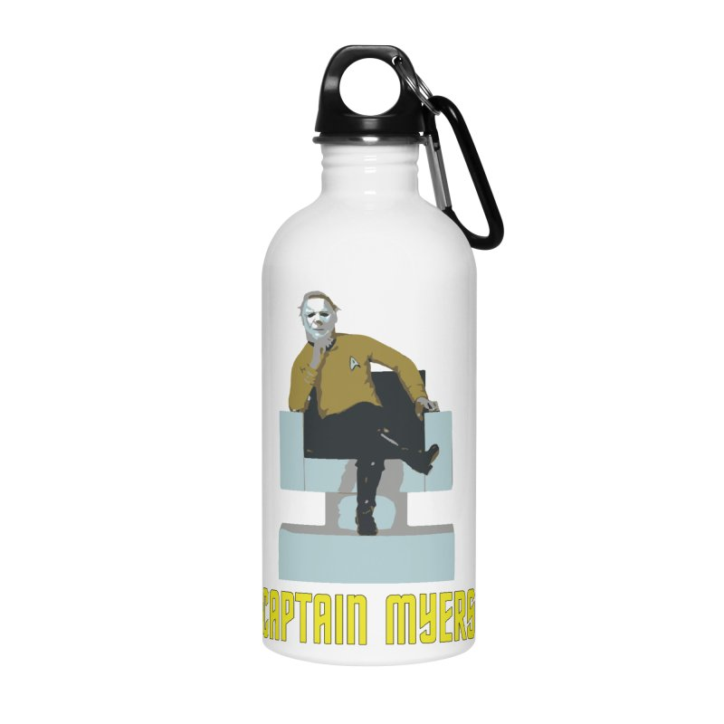 Captain Myers Accessories Water Bottle by oldtee's Artist Shop