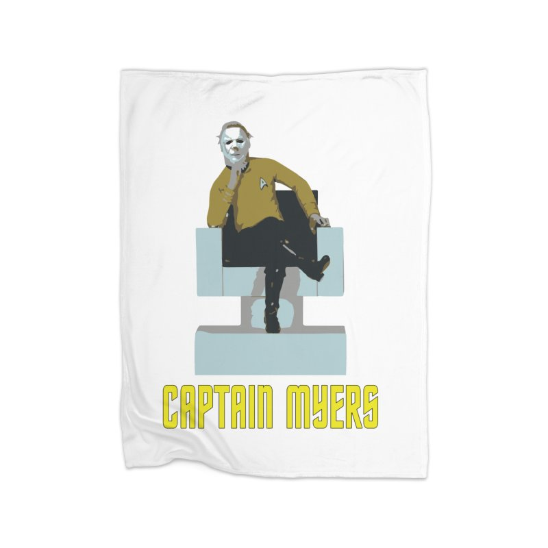 Captain Myers Home Fleece Blanket Blanket by oldtee's Artist Shop