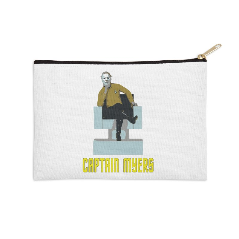 Captain Myers Accessories Zip Pouch by oldtee's Artist Shop