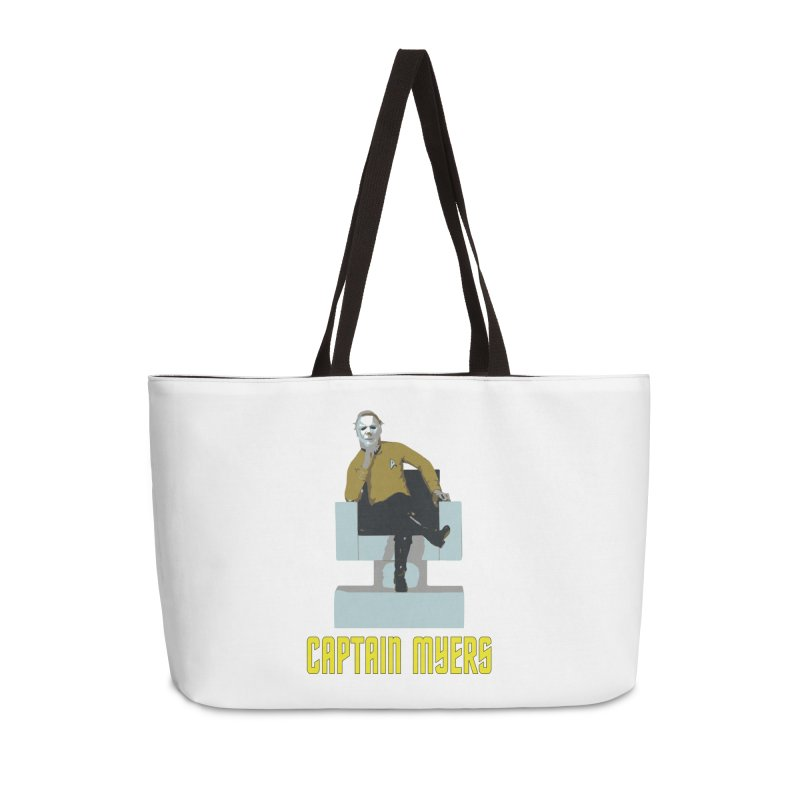 Captain Myers Accessories Weekender Bag Bag by oldtee's Artist Shop