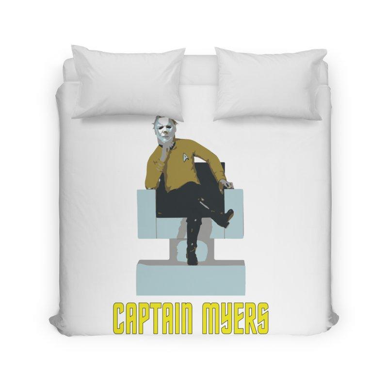 Captain Myers Home Duvet by oldtee's Artist Shop