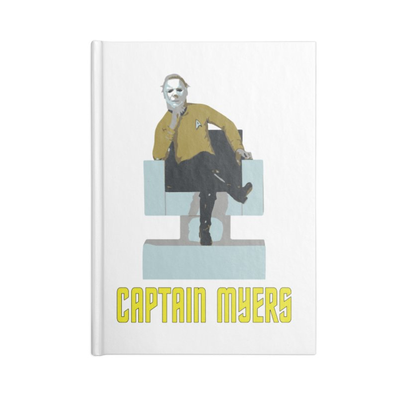 Captain Myers Accessories Lined Journal Notebook by oldtee's Artist Shop