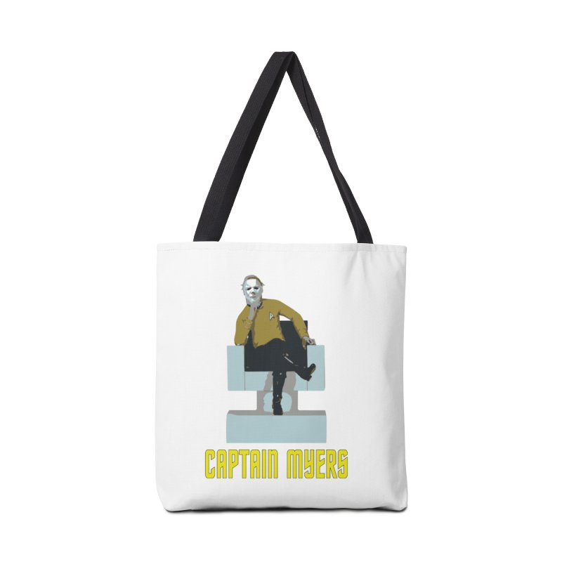 Captain Myers Accessories Tote Bag Bag by oldtee's Artist Shop