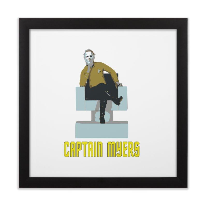 Captain Myers Home Framed Fine Art Print by oldtee's Artist Shop