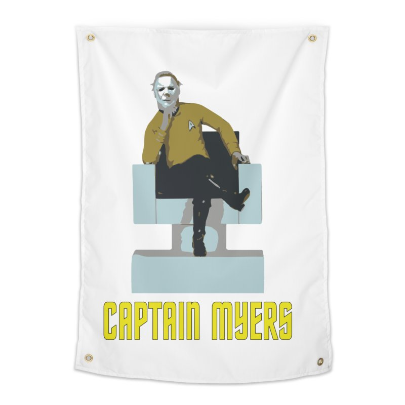 Captain Myers Home Tapestry by oldtee's Artist Shop