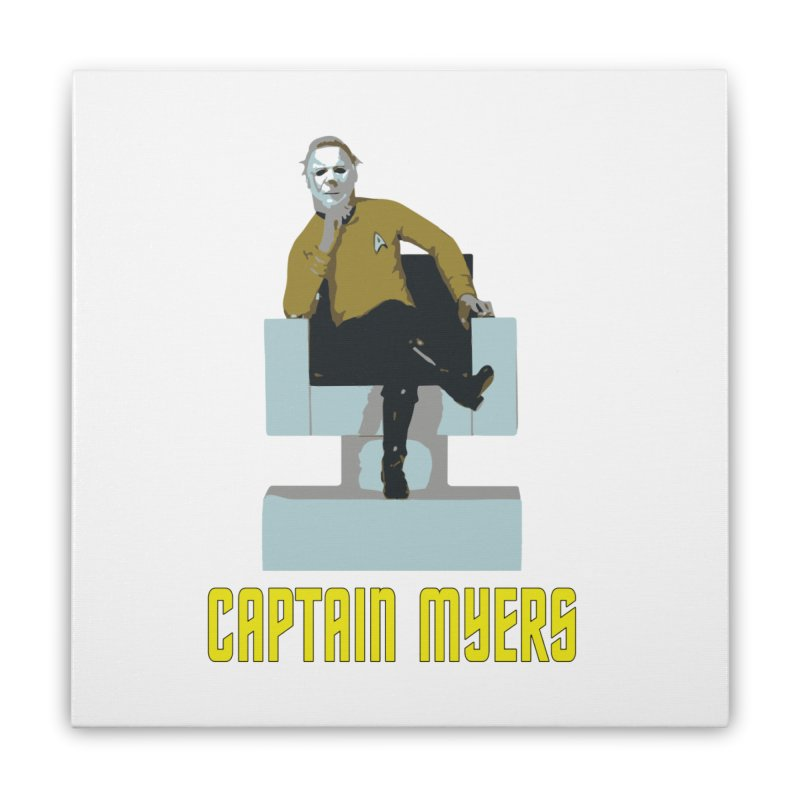 Captain Myers Home Stretched Canvas by oldtee's Artist Shop