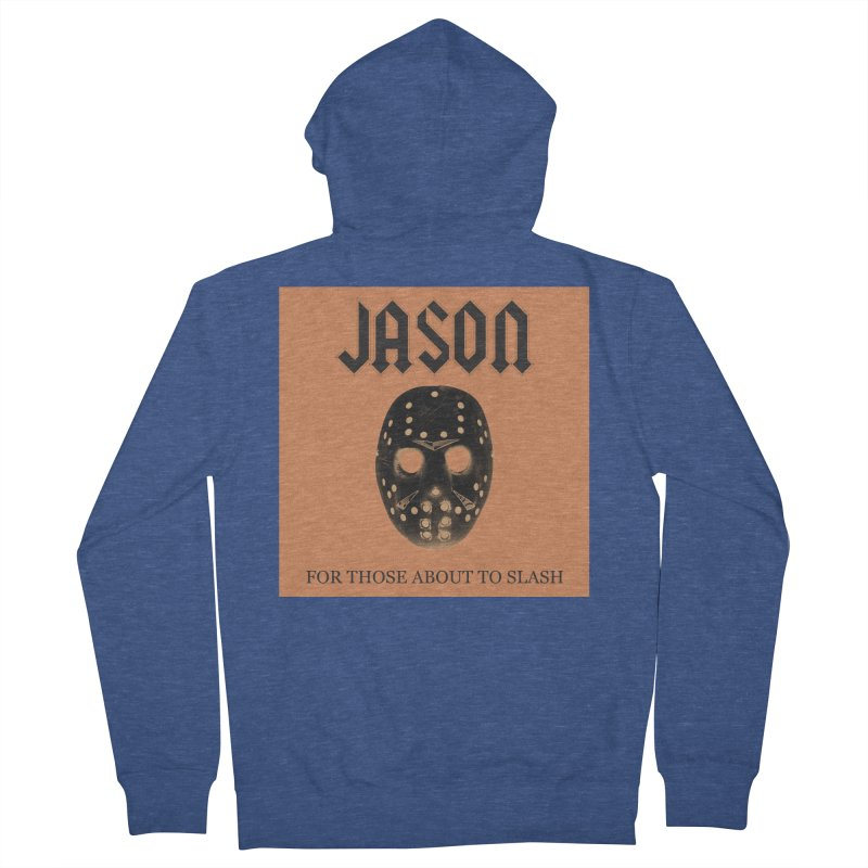 For Those About To Slash Men's French Terry Zip-Up Hoody by oldtee's Artist Shop