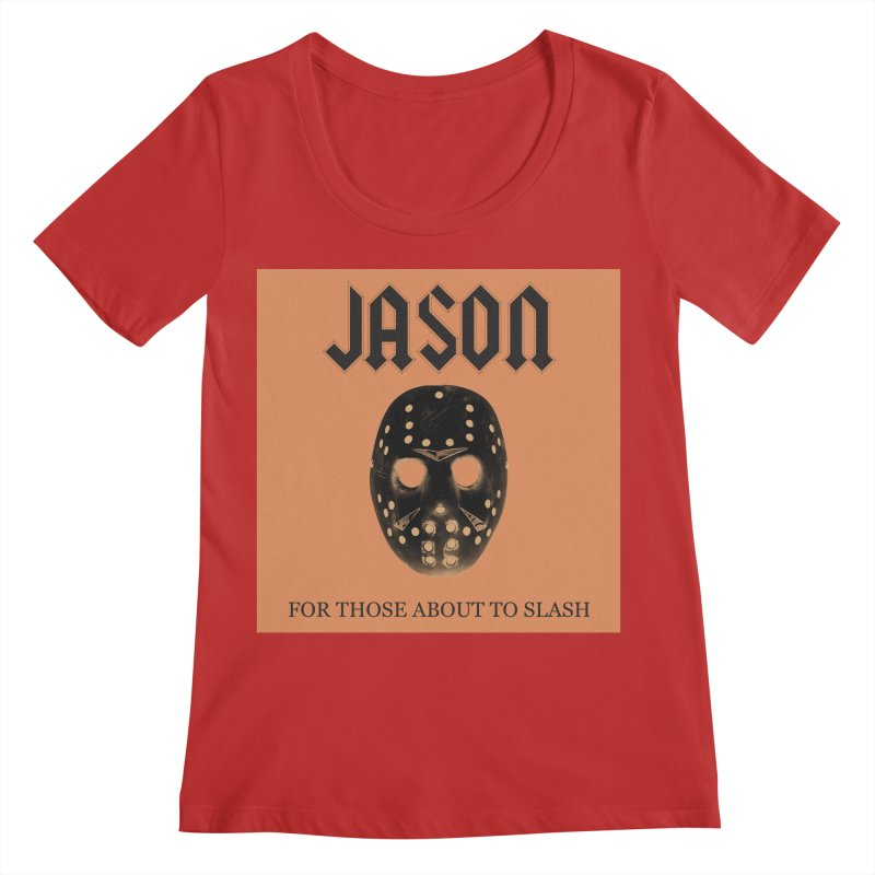 For Those About To Slash Women's Regular Scoop Neck by oldtee's Artist Shop