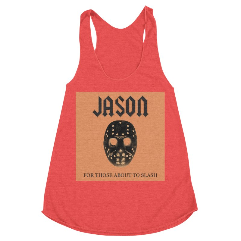 For Those About To Slash Women's Racerback Triblend Tank by oldtee's Artist Shop