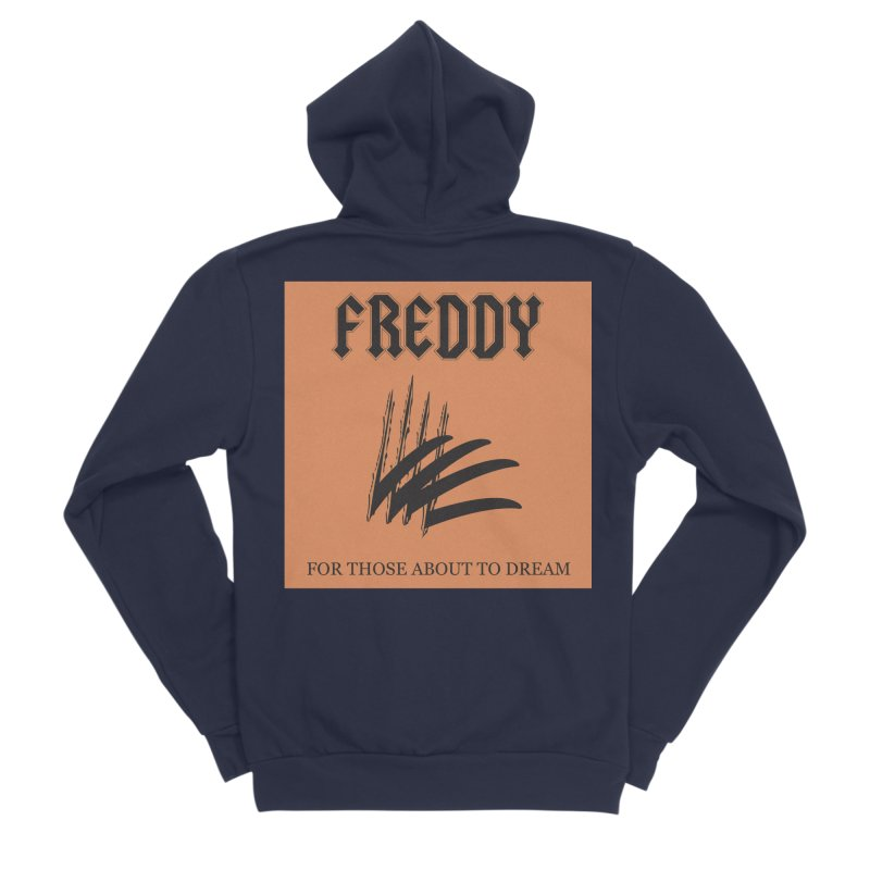 For Those About To Dream Women's Sponge Fleece Zip-Up Hoody by oldtee's Artist Shop